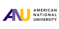 American National University logo